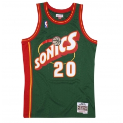 CAMISETA GARY PAYTON 1995-96 SEATTLE SUPERSONICS