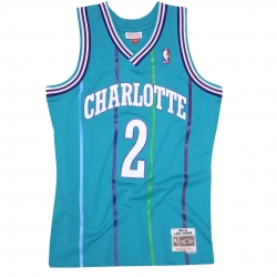 CAMISETA LARRY JOHNSON 1992-93 CHARLOTTE HORNETS