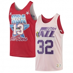 CAMISETA REVERSIBLE KARL MALONE ALL-STAR / UTAH JAZZ