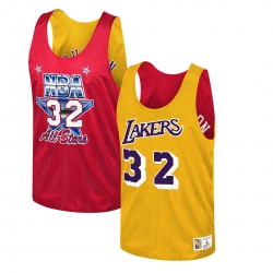 CAMISETA REVERSIBLE MAGIC JOHNSON ALL-STAR / LA LAKERS