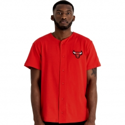CAMISA BOTONES MANGA CORTA NBA BUTTON UP CHICAGO BULLS
