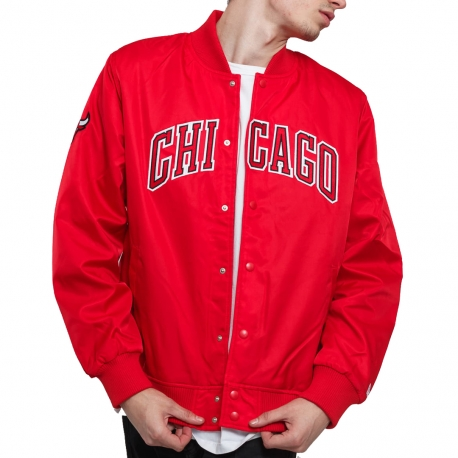 CHAQUETA BOMBER TEAM WORDMARK JACKET CHICAGO BULLS