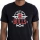 CAMISETA NBA LEAGUE NET LOGO TEE LOS CHICAGO BULLS