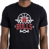 CAMISETA NBA LEAGUE NET LOGO TEE LOS CHICAGO BULLS