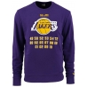 SUDADERA NBA TEAM CHAMPION CREW LOS ANGELES LAKERS