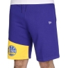 PANTALON CORTO NBA COLOUR BLOCK GOLDEN STATE WARRIORS
