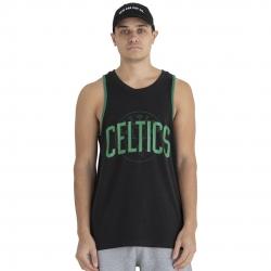 CAMISETA TIRANTES NBA DOUBLE LOGO BOSTON CELTICS