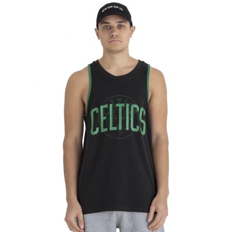 CAMISETA TIRANTES NBA DOUBLE LOGO BOSTON CELTICS