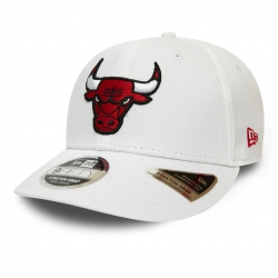 GORRA STRETCH SNAP 9FIFTY WHITE CHICAGO BULLS