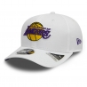 GORRA STRETCH SNAP 9FIFTY WHITE LOS ANGELES LAKERS