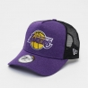 GORRA SHADOW TECH TRUCKER TEAM TONAL 39THIRTY LOS ANGELES LAKERS