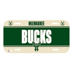 PLACA MILWAUKEE BUCKS