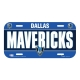 PLACA DALLAS MAVERICKS