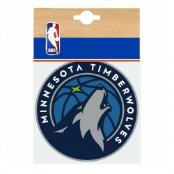 STICKER MINNESOTA TIMBERWOLVES